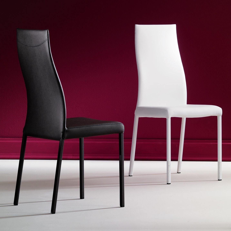 Idee sedie in pelle 6 modelli e 6 prezzi arredaclick for Sedie moderne prezzi