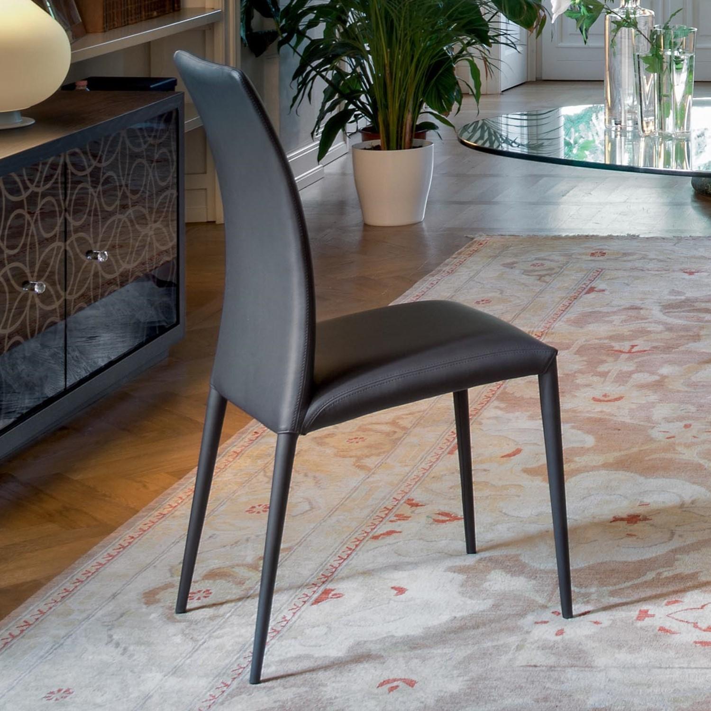 Idee sedie in pelle 6 modelli e 6 prezzi arredaclick for Pelle per rivestimento sedie