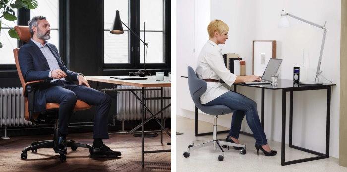 Sedie ergonomiche ideali per chi lavora al pc da casa