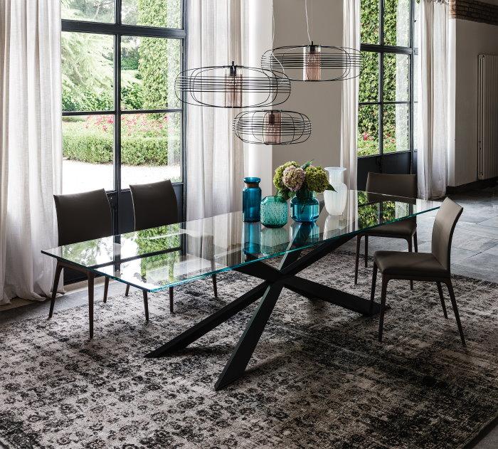 Idee come posizionare il tappeto in salotto sala da pranzo e camera da letto arredaclick - Tappeto sotto il tavolo ...