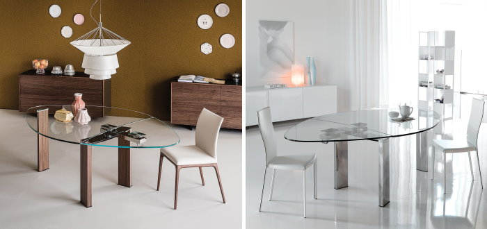 Gambe per tavoli in vetro trendy tavolo design con gambe - Gambe tavoli ikea ...