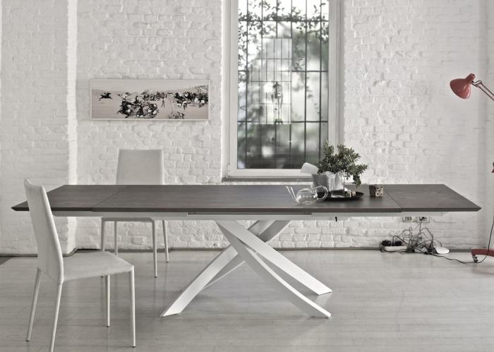 Arredaclick blog sala da pranzo e salotto insieme come arredare e organizzare gli spazi - Tavolo sala da pranzo ...