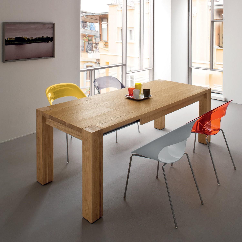 Idee - Tavolo da cucina resistente e pratico #3: il legno massello ...