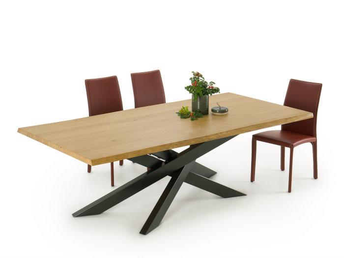 Idee tavoli con gambe incrociate 10 modelli 10 prezzi - Tavolo in legno massello prezzi ...