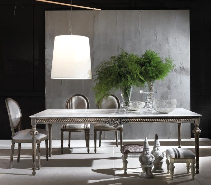 ... da pranzo resistente e pratico #5: i tavoli in marmo - ARREDACLICK