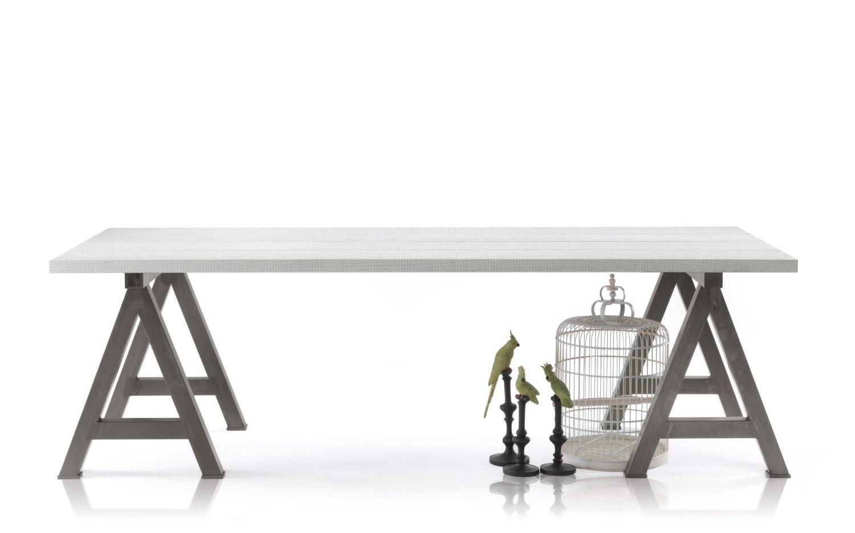 Arredaclick blog tavolo da cucina resistente e pratico for Leroy merlin cavalletti