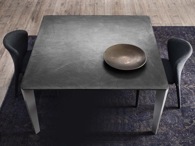 Idee tavolo da cucina resistente e pratico 4 cemento - Top cucina in cemento ...