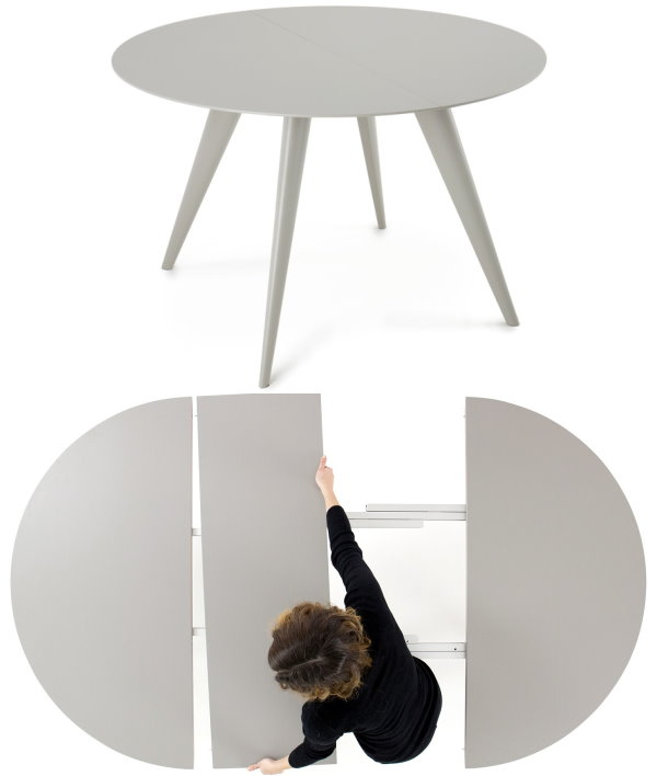 Arredaclick blog tavolo rotondo 10 modelli per la sala for Tavolo rotondo e sedie