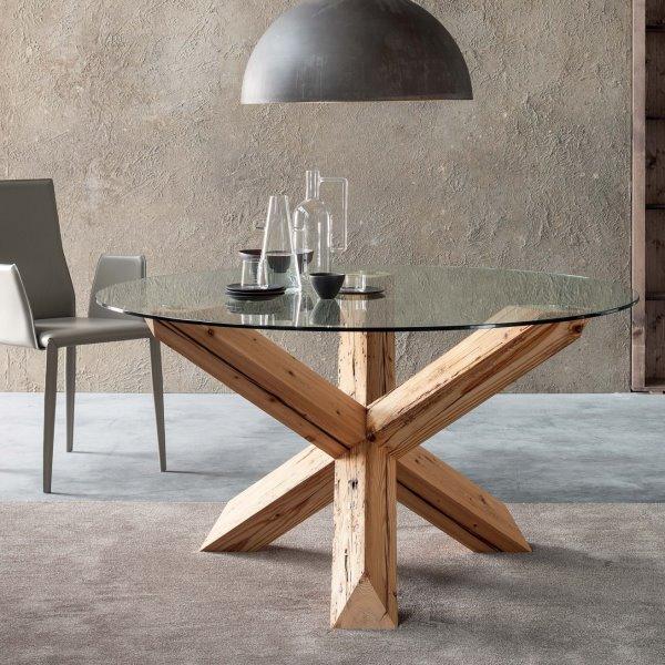 Idee tavolo rotondo 10 modelli per la sala da pranzo - Tavolo rotondo vetro diametro 120 ...