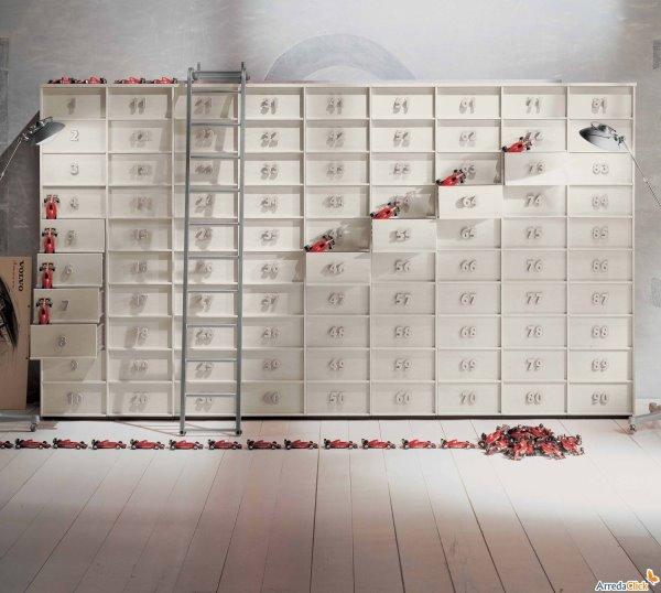 Idee mobili contenitori che danno i numeri in ufficio for Mobili contenitori ufficio